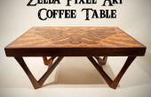 Mesa de centro de arte de Zelda Pixel