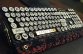 El capitán del dirigible MK-I(yet another steampunk keyboard)