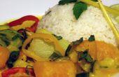 Receta de Curry de calabaza fácil