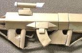 MARKSMAN Rifle de asalto 2.0 de Halo (arma de cartón)