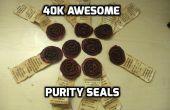 40 k sello de pureza impresionante!