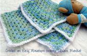 Fácil ganchillo miniatura Granny Square manta