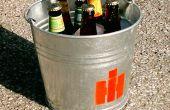 Cubo de la cerveza de verano modificado para requisitos particulares