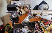 Brazo robótico hecho en casa con piezas estándar utilizando Arduino y un GUI de procesamiento