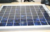 Batería menos potente Cargador Solar