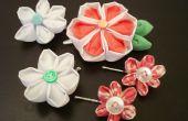 Flores accesorios para el cabello