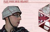 Flat Pack bicicleta casco
