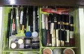 Organizador de maquillaje (materiales reciclados)