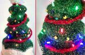 ¿Encienden árbol de Navidad sombrero