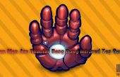 Reactor de arco de hierro hombre Bang Bang etiqueta