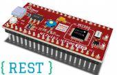 Agregar servicios Web basados en REST para IoT dispositivo para monitoreo de IO
