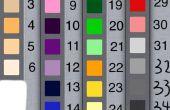 Estudio de color de diferentes país