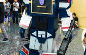 """Cómo hacer un Transformers Decepticons: traje """"Soundwave"""""""
