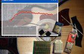 HumiGit - guitarra higrómetro registrador de Cloud