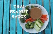 Salsa de cacahuate Thai receta imitador!