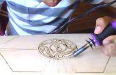 Cómo a mano grabar un corto crucero (un proyecto de carpintería)