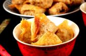 Bolas de masa hervida cantonesa frito profunda