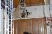 Recinto de la perrera: Armario estantería de alambre y Cable lazos en minutos, flexibles, móviles, desmontables