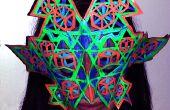 Cuero y resplandor: Recorte teselar máscara