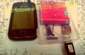 Cargador de móvil portátiles (Solar) de desecho