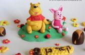 Cómo hacer Winnie el Pooh de cumpleaños fondant