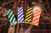 DIY: Favoritos de Harry Potter (casas de Hogwarts)