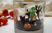 Reloj de Diorama de Halloween