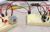 Detector del coche garaje sin un microcontrolador