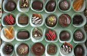 Caja de dulces surtidos caseros