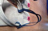 No más fácil coser a manera de hacer una correa posterior taglietelle Flip Flop