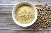 Cómo hacer harina de soja