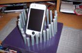 Teléfono celular dest soporte holder cargador 3D en forma de corazón
