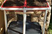Hidropónico de flujo y reflujo de patio
