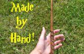 Aturdir a tus amigos con estas varitas Harry Potter hechas a mano!
