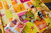 Cómo hacer un mantel de arte para niños pequeños