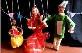 Arte de la marioneta divertida!