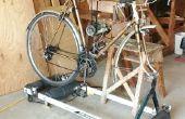 Soporte de horquilla para bicicleta rodillos
