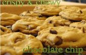 Crujiente y Chewy Chocolate Chip Cookies