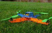 Láser corte MultiWii basado quadcopter