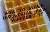 Cómo hacer waffles Feria industriales!!!!