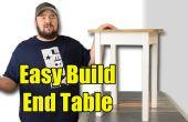 Fácil construir la tabla de extremo - herramientas limitadas