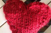 Cómo tejer un corazón de San Valentín