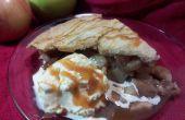 Tarta de manzana de moda viejo