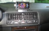 IPod Touch/iPhone montaje para VW Golf/GTI/Jetta