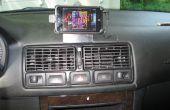 IPod Touch/iPhone montaje para VW Golf/GTI/Jetta