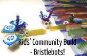 Construir los niños de la comunidad: Bristlebots!