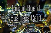 Diseñar tu propia tarjeta de visita de PCB