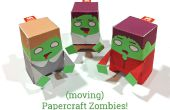 Papercraft Zombies