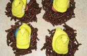 Nidos de Pascua comestibles
