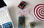 Motor DC control vía USB
